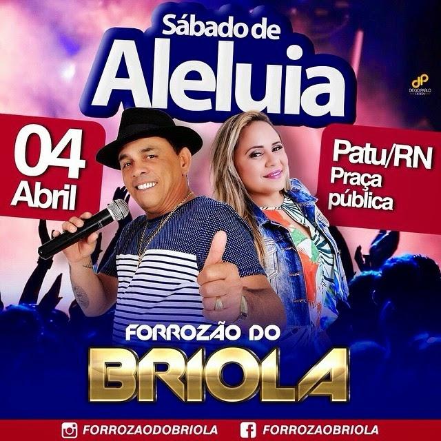 SÁBADO DE ALELUIA EM PATU!