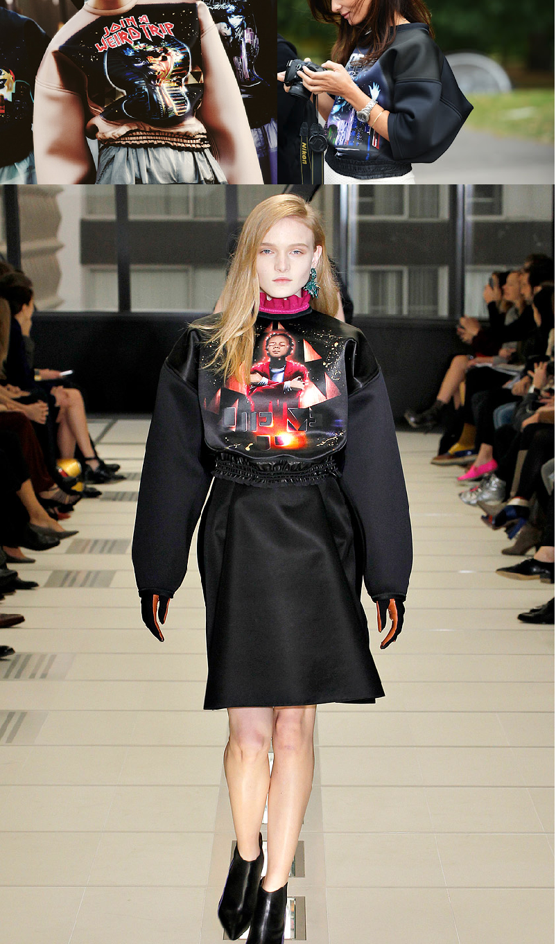 street style, inspiration, runway, fall winter 2012/13, Balenciaga, Star Wars, graphic tee, trend