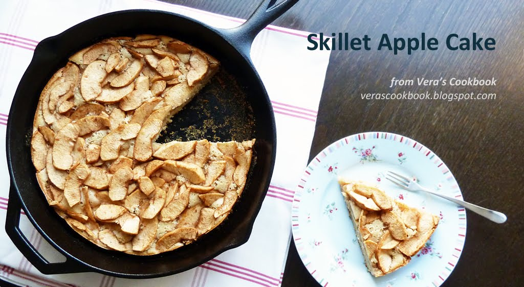 Rustic Skillet Apple Cake | Vera's Cookbook