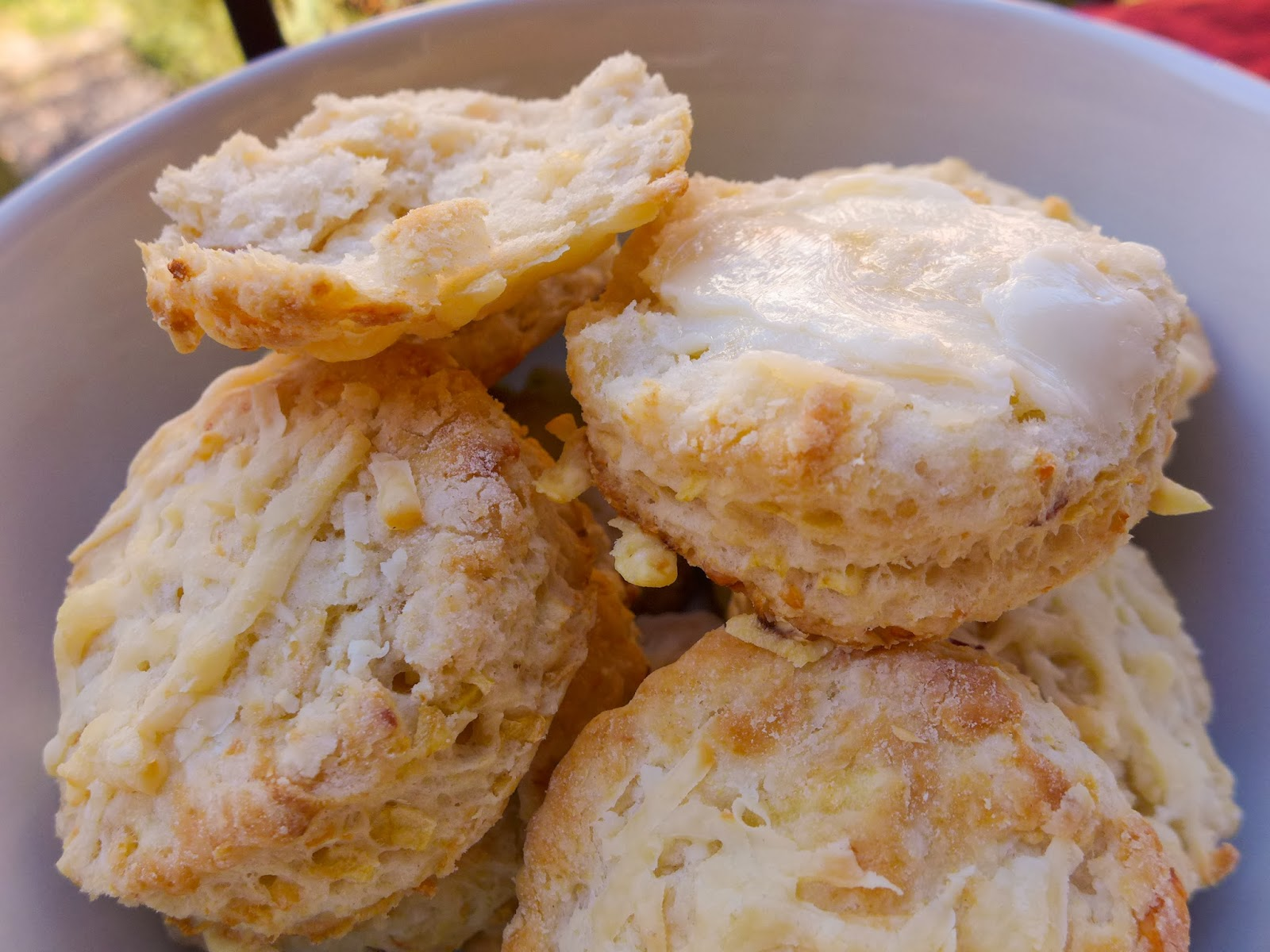 Apple & Cheddar Scones (adapted from The English Kitchen )