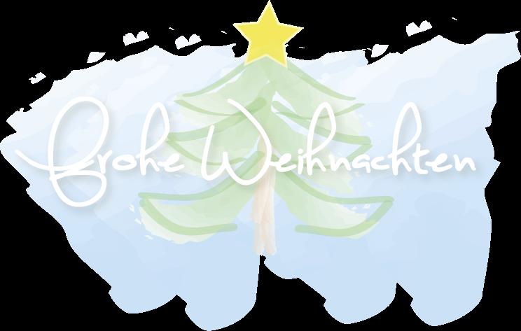 Zeichnung frohe Weihnachten 2015