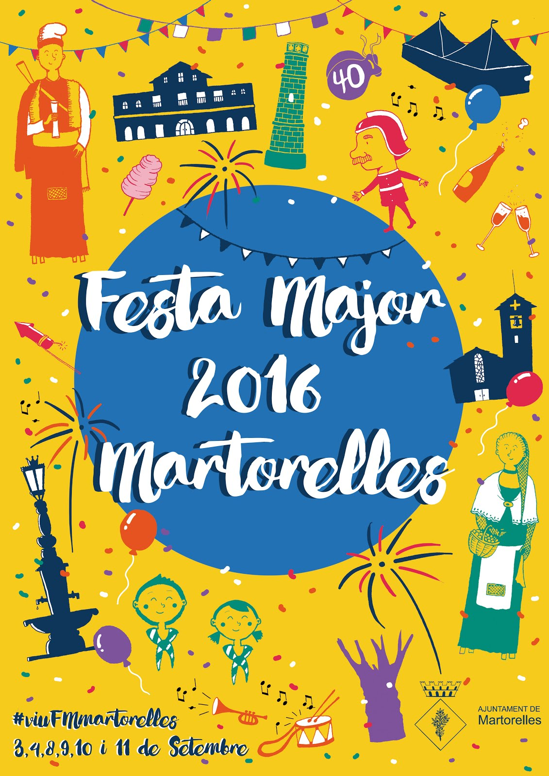 Cartell Festa Major Martorelles 2016
