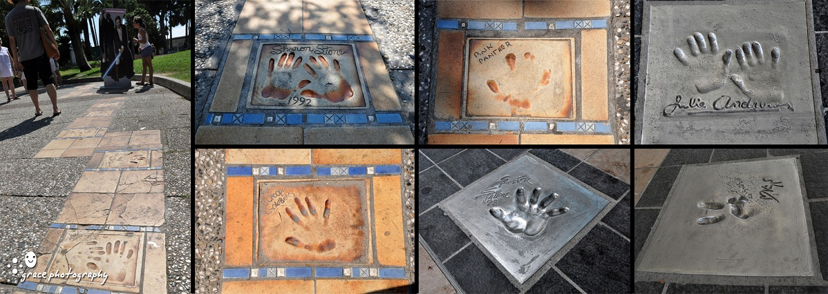 Celebrity handprints at the 'Palais des Festivals' in Cannes, France! Famous+hand+print