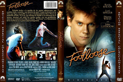 Cover, dvd, caratula: Footloose | 1983