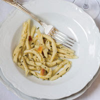 Pasta with Rosemary and Onion-Orange Marmalade