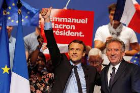 Le Modem s'engage en faveur d'Emmanuel Macron
