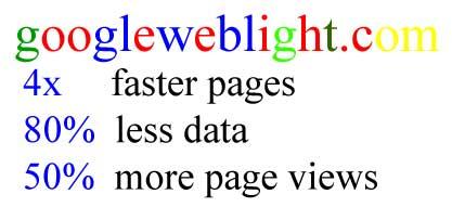 googleweblight.com lebih cepat akses halaman blog