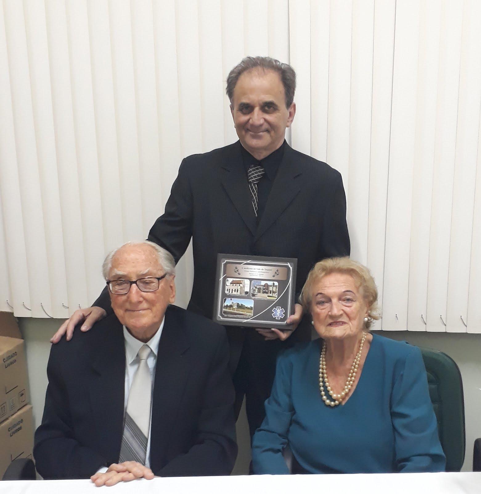 Airton Engster dos Santos, Dr. Werner Schinke e D Gisela Schinke