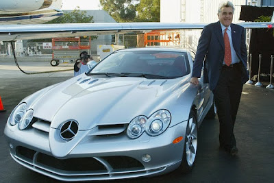 Jay Leno Mercedes SLR McLaren Most Expensive Celebrity Cars
