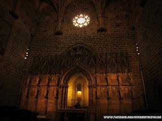 Capilla del Santo Caliz Catedral de Valencia