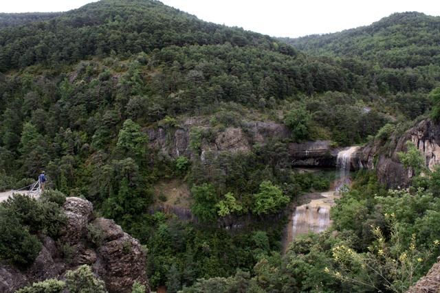 wodospad w Pirenejach
