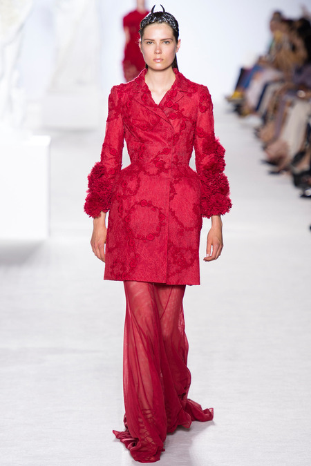 Runway report paris haute couture fashion week for Haute couture pronounce