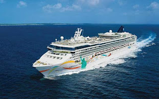 Norwegian Cruise Line's Norwegian Dawn Stop in Baltimore as part of Repositioning Cruise