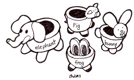 ceramic lesson plans pinch pots with animal features art