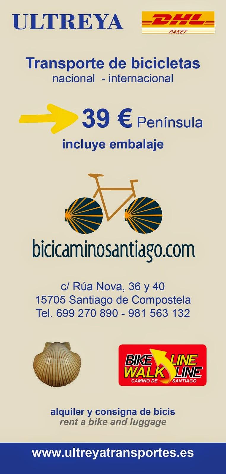 TRANSPORTE DE BICICLETA