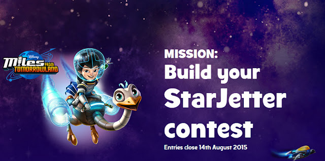 Build Your Starjetter Contest bersama Miles From Tomorrowland