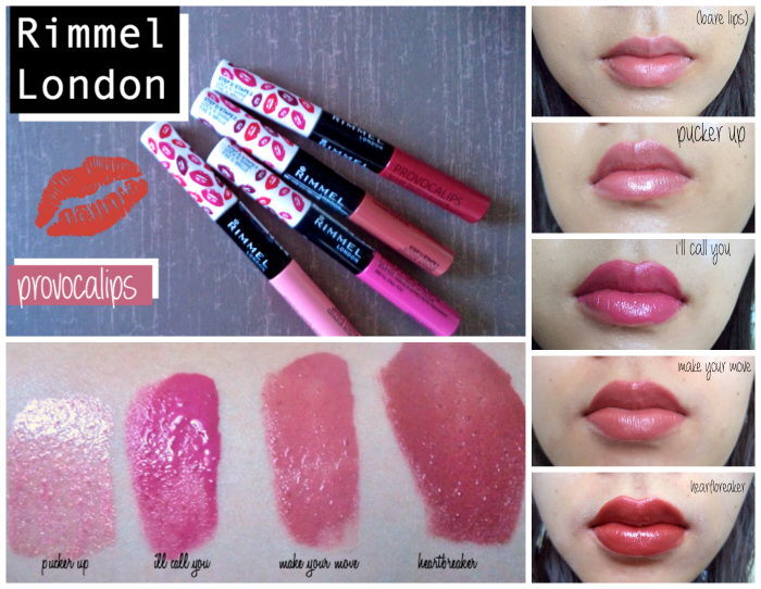 Review rimmel london provocalips pucker up swatches i ll call you