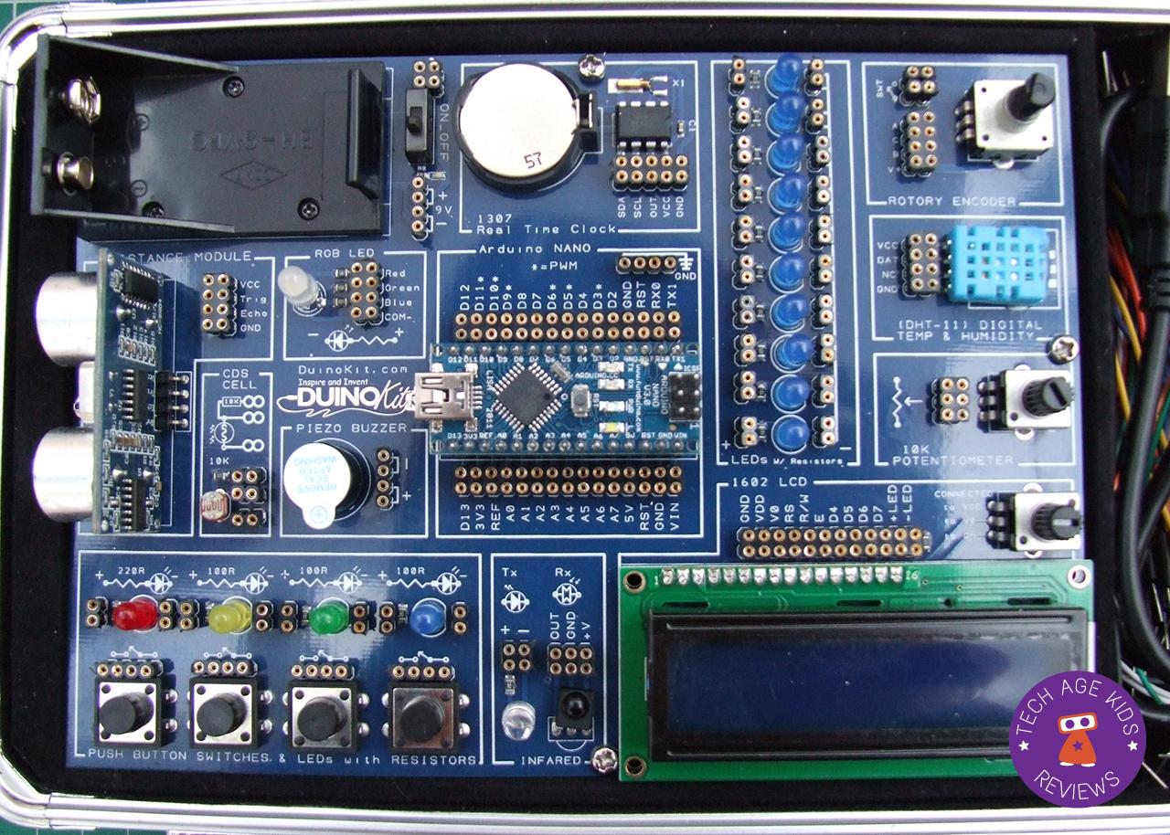 Duinokit jr hands on review arduino for kids