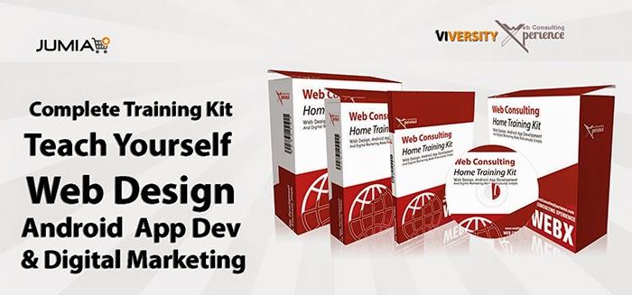 Jumia home training kit for web design, app develpment