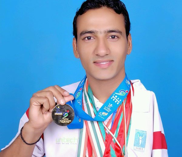 Bharat Kumar has won 50 International medals