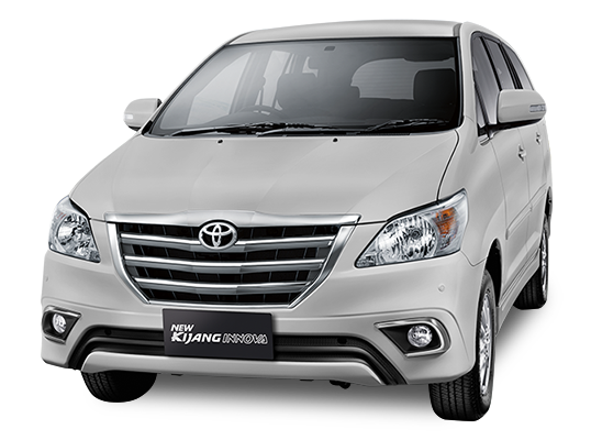 Toyota Grand New Kijang Innova Silver Metallic