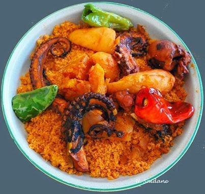 Recette couscous belkarnit ou couscous aux poulpes