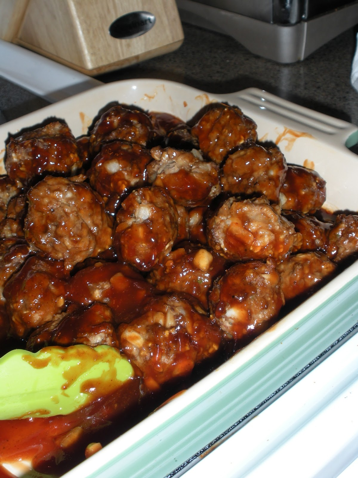 Kendra's Kitchen Creations: Delicious Barbecue Meatballs