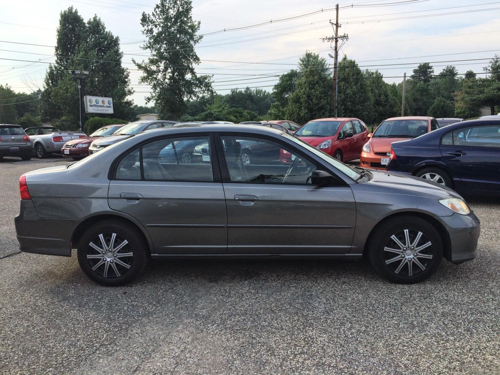 2004 Honda Civic LX Sedan, Grey, 137740 Mi, $5,995 Http://bit.ly/UX239p  Compact, 4 Spd Automatic, MPG U003d 25/34