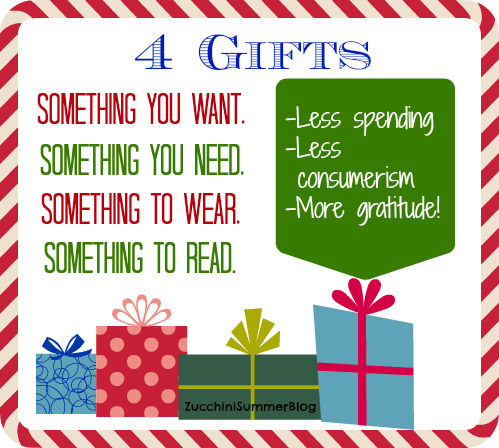 Zucchini Summer 4 Reasons We Give Our Kids Christmas Gifts