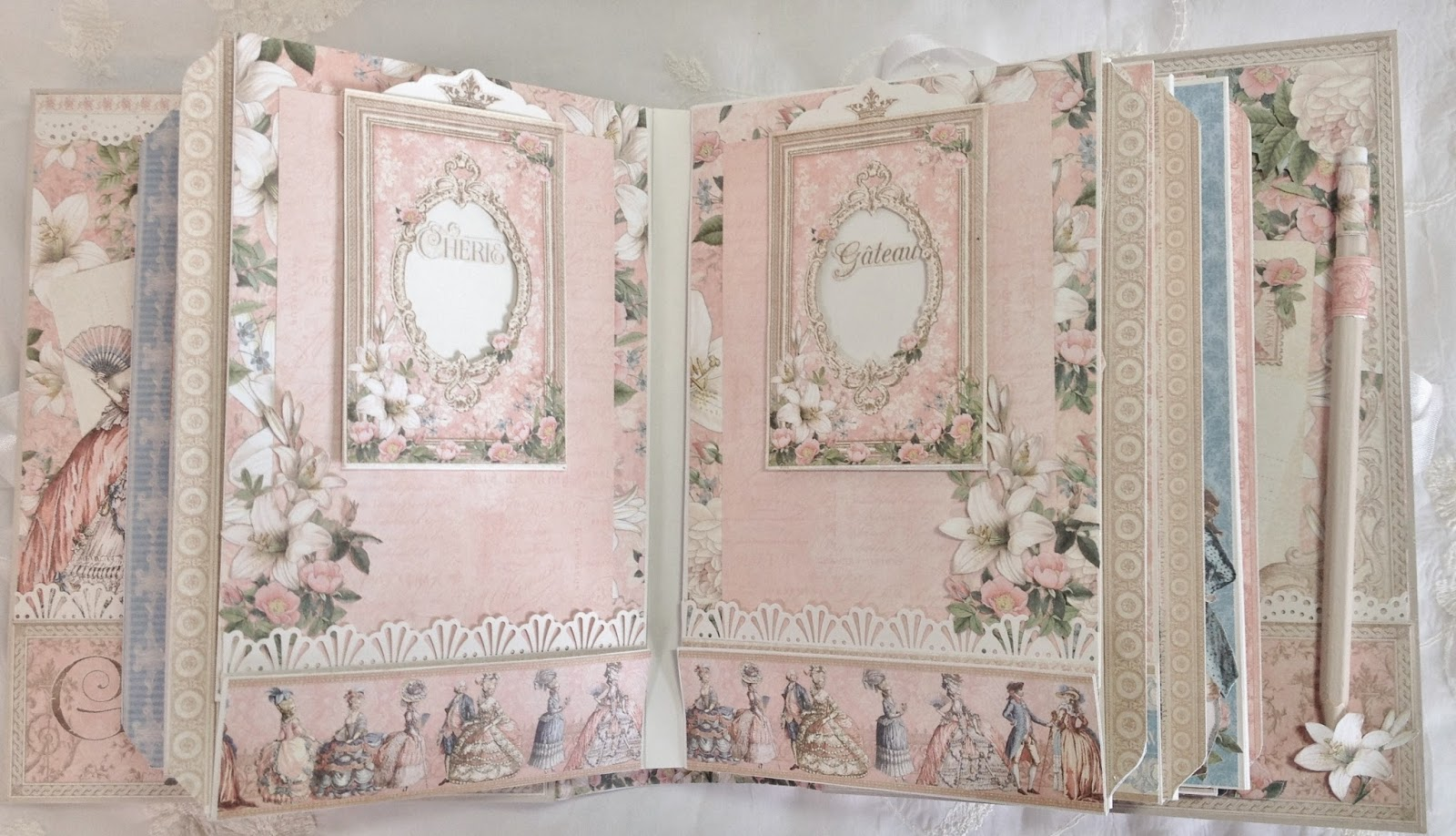 Scrapbook ideas abc album - Here Is A Lot Of Room For Journaling And Photos