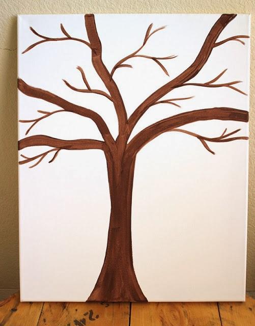Reciclatex Cómo hacer un cuadro de árbol de botones