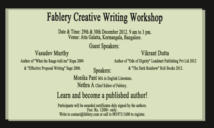 opinions on creative writing