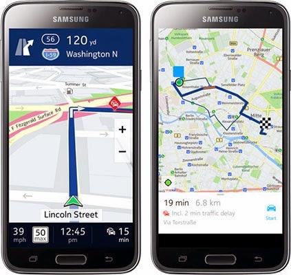 Η Nokia φέρνει τους χάρτες HERE στο Android αλλά μόνο σε συσκευές Samsung