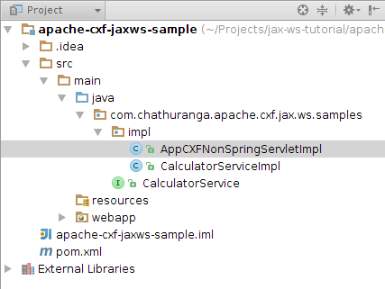 Being Compiled Apache Cxf First Jax Ws Soap Web Service
