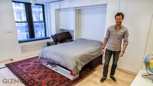 07-Bedroom-Mode-Graham-Hill-founder-of-treehugger.com-Multi-Functional-Studio-Apartment-420-square-feet-www-designstack-co