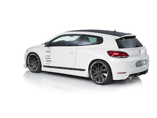 2011 Volkswagen Scirocco rear side