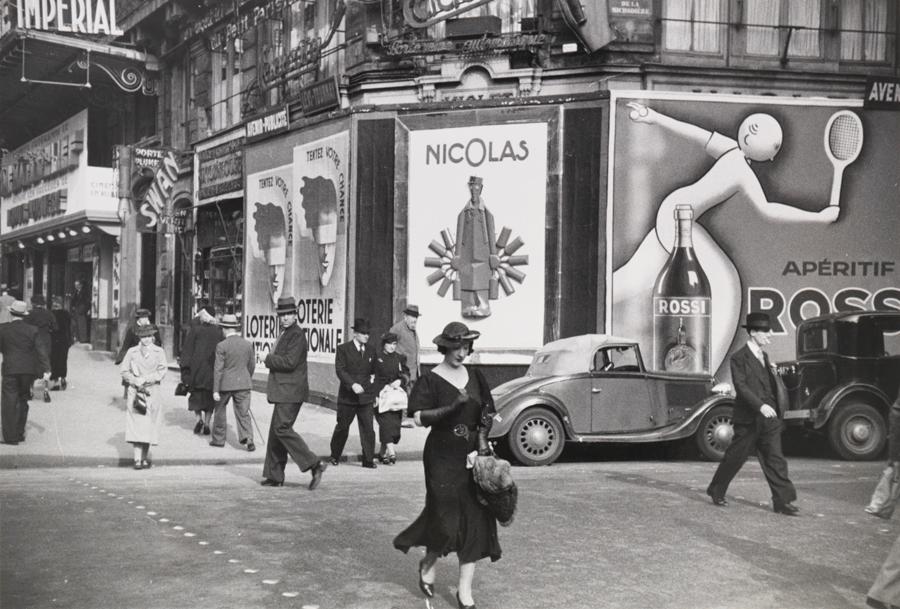 street scene of paris in 1935 vintage everyday