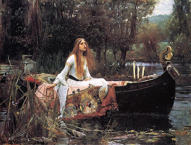 """The Lady of Shalott"" by John William Waterhouse #waterhouse #art"
