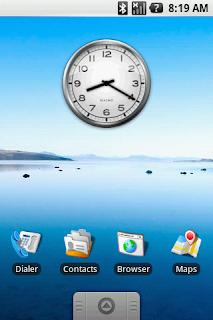 Tampilan Android 1.1