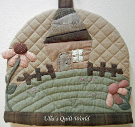 Quilted Tea Cosy - Japanese patchwork
