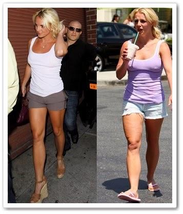 Антицеллюлитные упражнения от Бритни Спирс