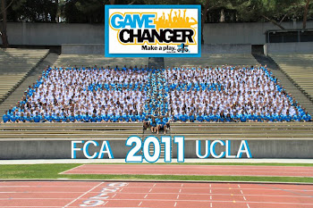 Annual FCA camp at UCLA
