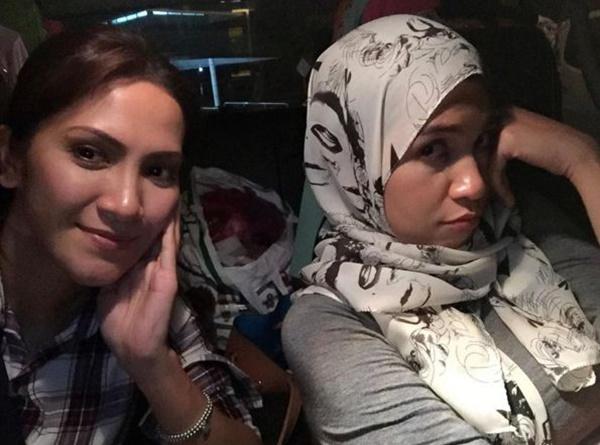 (GAMBAR) Izreen, Sherry Ibrahim Terlibat Kemalangan... YAALAH TERUKNYA!!