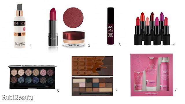 ideas regalar regalo navidad christmas cosmetica maquillaje