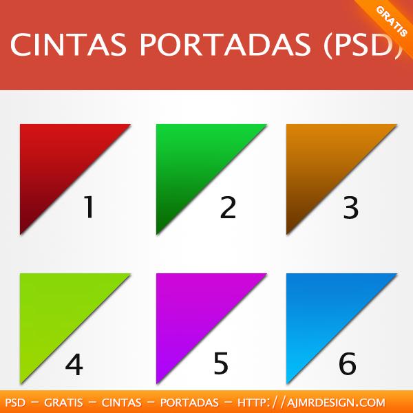 Cintas portadas (PSD)
