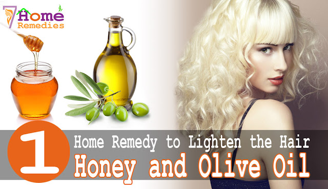 olive is great for lightening your hair and skin