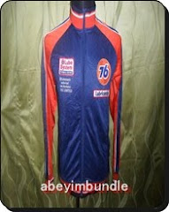 76 LUBRICANTS JACKET TRAINER