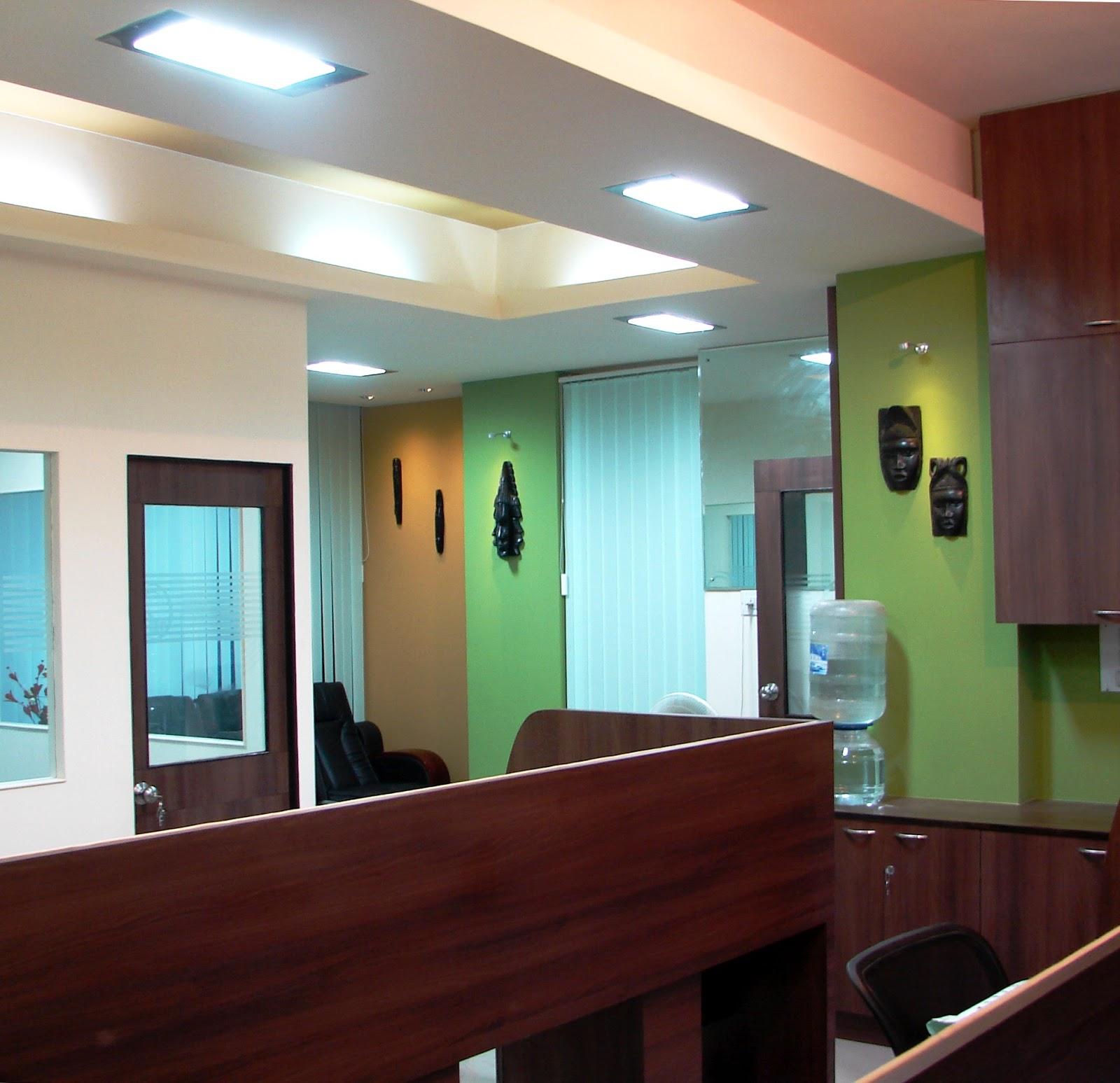 Diana crasta interiors office interiors for Office cabin design