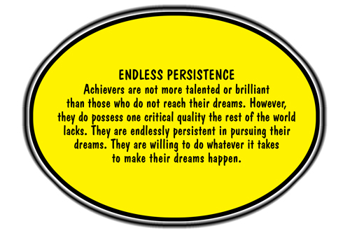 importance of persistence