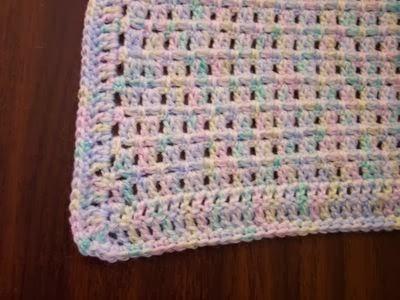 Craft Brag Easy Fast Crochet Baby Blanket Patterns